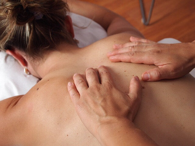 Le massage relaxant